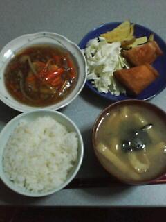 10月10日の夕ご飯