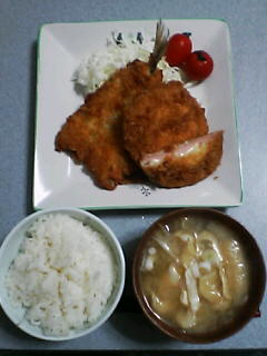 10月21日の夕ご飯