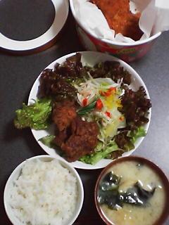 12月25日の夕ご飯