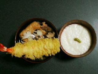 12月31日の夕ご飯(年越し蕎麦)