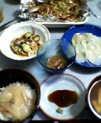 8月12日の夕ご飯