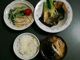 1月19日の夕ご飯