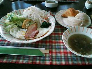 2月19日の朝ご飯:ペンション・クライスデール(留寿都)~朝食