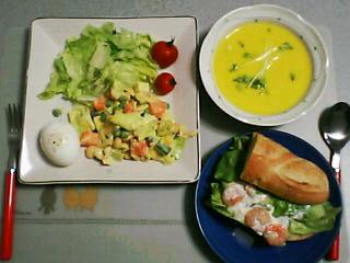 3月6日の夕ご飯:エドワーズ(函館)
