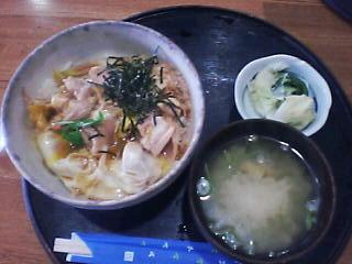 3月23日の昼ご飯:あま茶(函館)