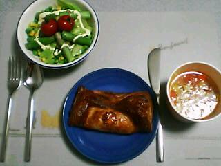 3月31日の夕ご飯:ムッシュ岩城のパイとスープのお店(函館)