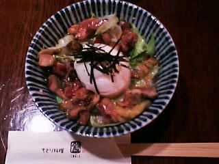 4月4日の夕ご飯:ぢどり料理 鶏(函館)