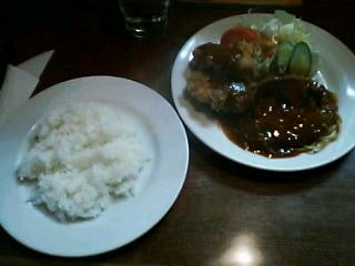 4月5日の昼ご飯:洋食すわ(函館)