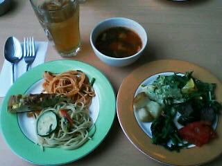 4月8日の昼ご飯:フランフラン(函館)