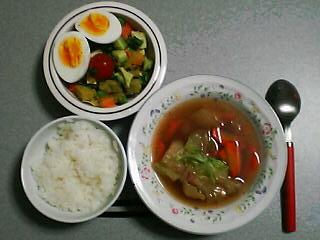 4月9日の夕ご飯