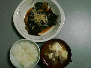5月1日の夕ご飯