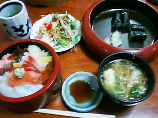 5月7日の昼ご飯:さかえ鮨中道店(函館)
