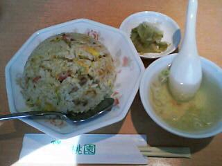 6月2日の昼ご飯:桃園(函館市)