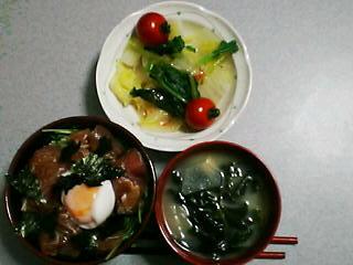 6月4日の夕ご飯