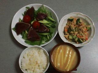 6月9日の夕ご飯