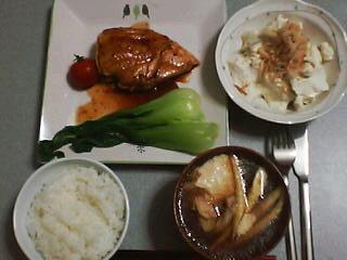 6月10日の夕ご飯:勝田豆腐店(七飯)