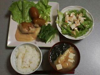 6月23日の夕ご飯