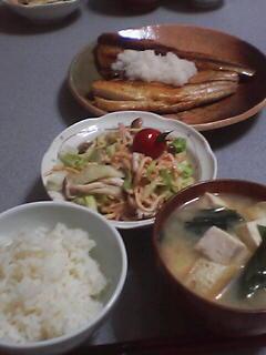 6月24日の夕ご飯:漁師の直売店(瀬棚)