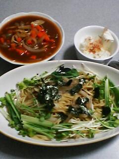 6月25日の夕ご飯:トワ・ヴェール(黒松内)