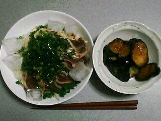 6月30日の夕ご飯