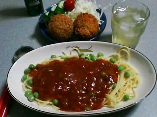 7月5日の夕ご飯
