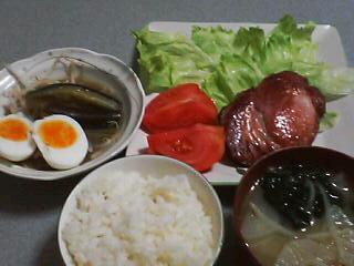 7月19日の夕ご飯:シェーネフェルト(函館)