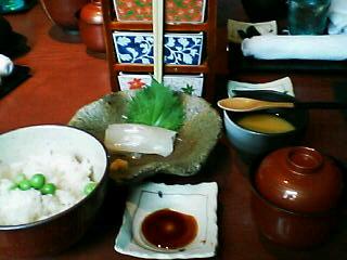 7月20日の昼ご飯:いずみ庵(函館)