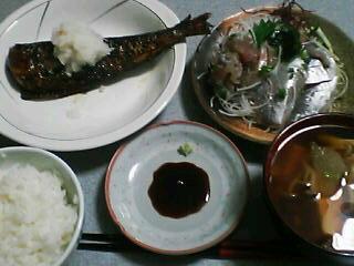 7月23日の夕ご飯