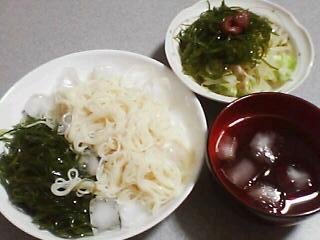 7月26日の夕ご飯