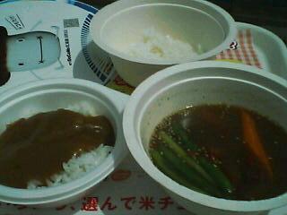 8月4日の昼ご飯:2005カレーフェスタ(函館)