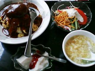 8月30日の昼ご飯:皇林(函館)