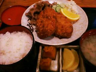 9月7日の夕ご飯:昭和食堂(函館)