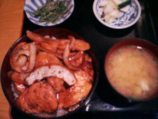 9月13日の夕ご飯:食事処うちうら(豊浦)