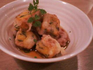 10月12日の夕ご飯:コパン(函館)卵焼きの洋風衣あげ