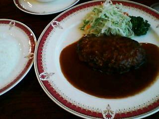 10月27日の昼ご飯:レストランシマダ(大曲)