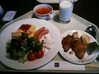 11月15日の朝ご飯:横浜エクセルホテル東急(横浜)
