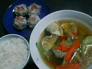 11月18日の夕ご飯:彩鳳(羽田空港)