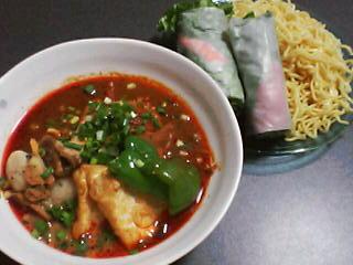 12月5日の夕ご飯:木多郎のスープカレーつけめん