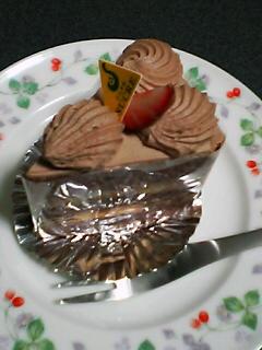 12月6日のデザート:サロン・ド・テ シュクル(七飯)