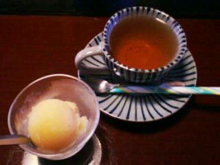12月9日の昼ご飯:日影茶屋 蕪蕪(函館)デザート