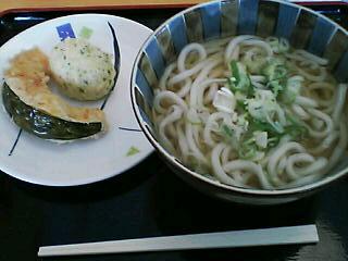 12月14日の昼ご飯:渡邊うどん(函館)