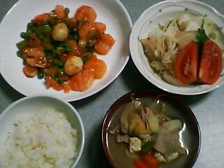 1月9日の夕ご飯