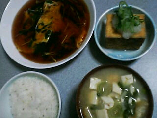 1月14日の夕ご飯