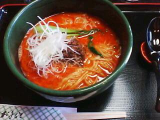 1月17日の昼ご飯:担担麺 同楽舎(函館市)