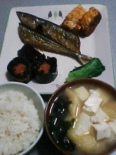 2月2日の夕ご飯