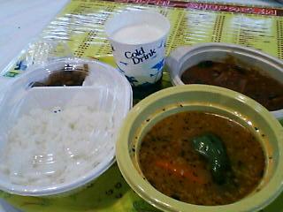 2月8日の昼ご飯:スピカ カレー博覧会2006(札幌)