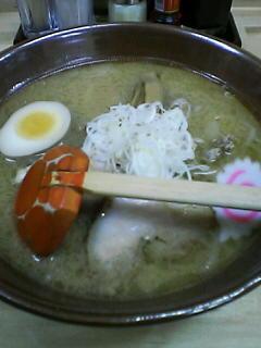 2月8日の夕ご飯:ふくろう(八雲)