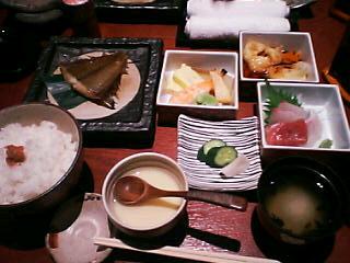 2月14日の昼ご飯:いずみ庵(函館)