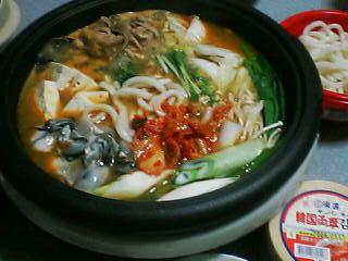 2月26日の夕ご飯:豚キムチ鍋