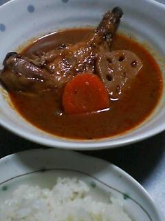 2月28日の夕ご飯:南家のスープカレー